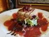 Platos Catering Chinchón | ENSALADA DE FOIE Y JAMON
