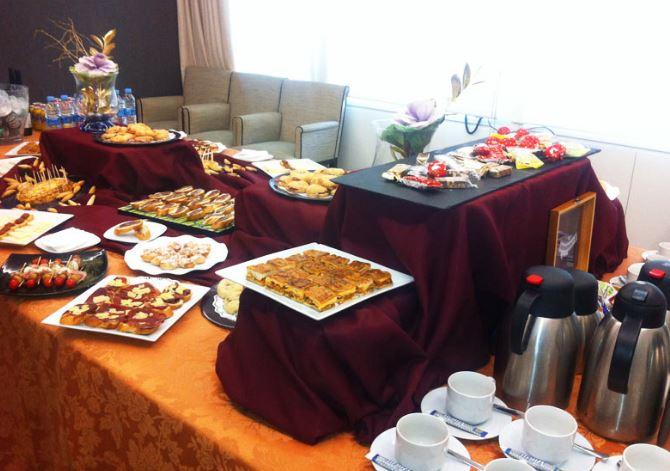 catering empresa madrid montaje comedor