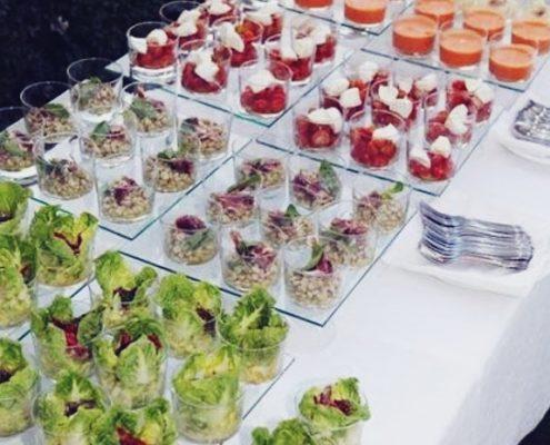 ideas de catering de boda barra libre