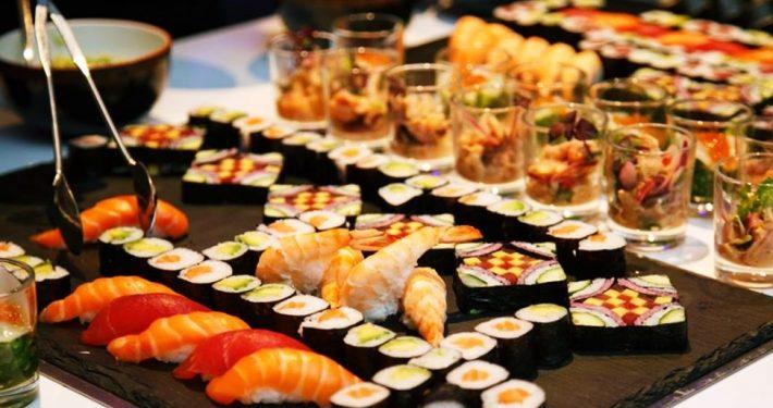 platos para fiestas catering