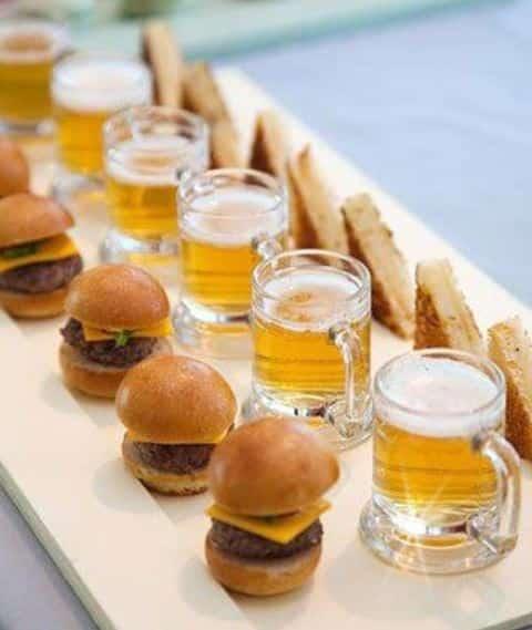 snacks para despues del banquete