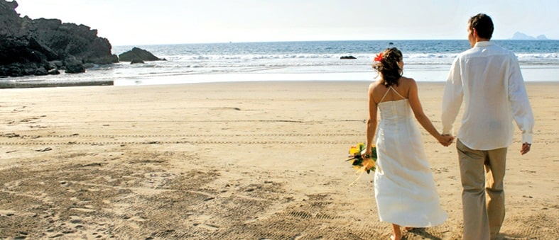 Boda tropical de playa