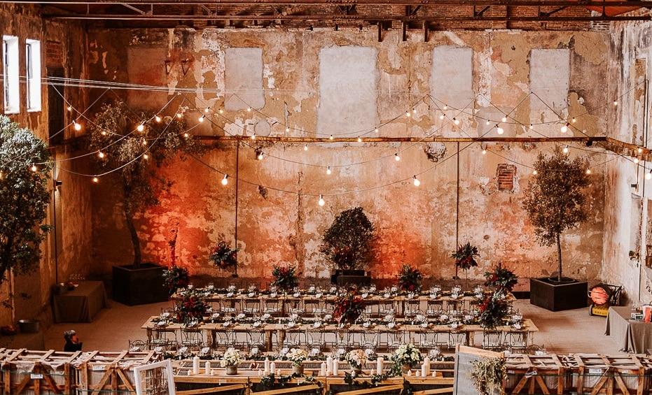 Lugares bodas industriales