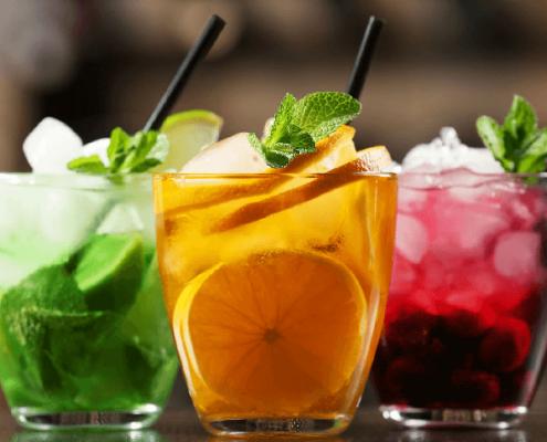 Decorar las bebidas de forma original