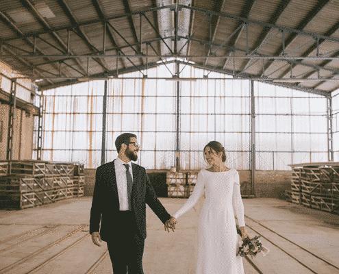 Cómo planear una boda industrial