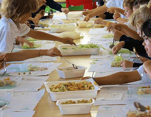 Comida saludable para fiestas infantiles
