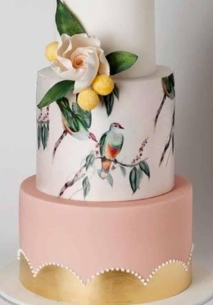 opciones de tarta de bodas