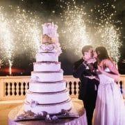 tarta de bodas tradicional
