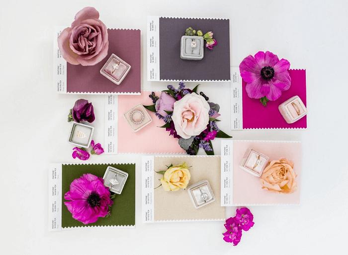 Elige un esquema de colores para tu boda
