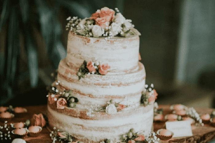 ideas para pastel de bodas en verano