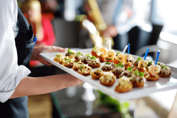 Catering con comida tradicional