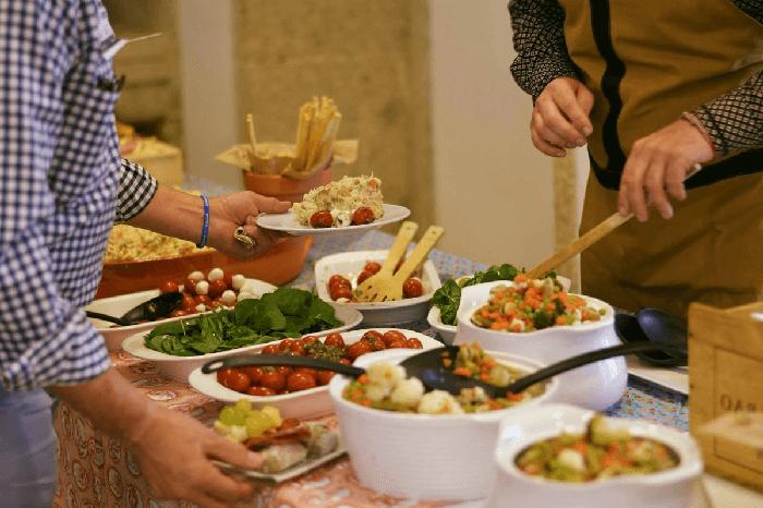 Catering para empresas sustentable