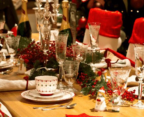 Contrata un catering para navidad