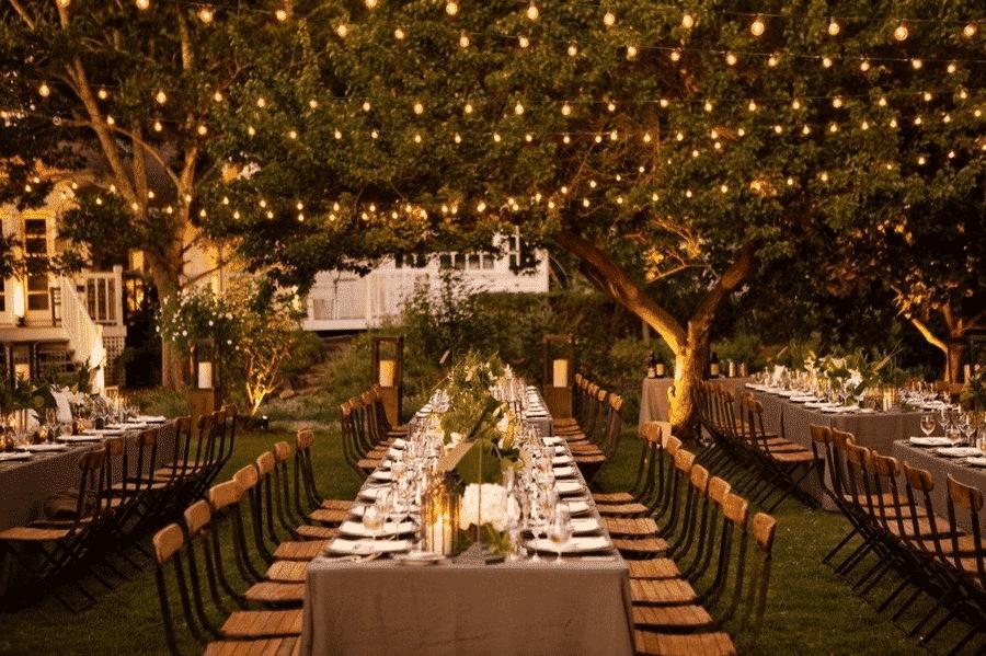 Menú de boda en otoño