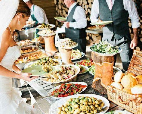 ¿Eventos con catering buffet?