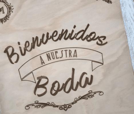 Ideas de caligrafía elegante para el día de su boda