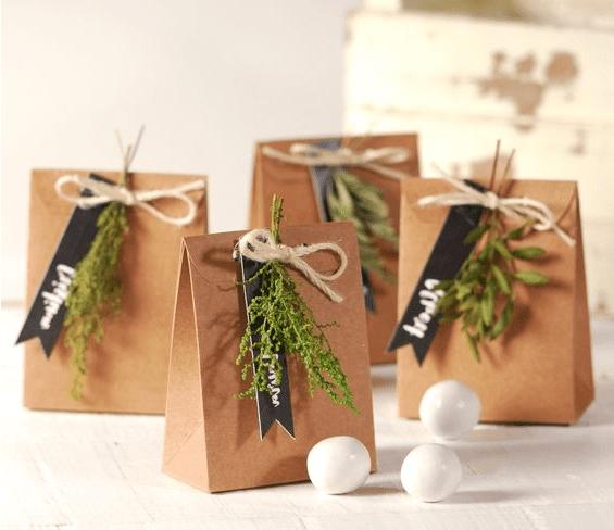 ¿Cómo envolver los regalos de tus invitados?